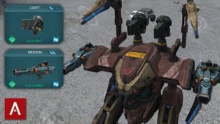 NEW ARES ROBOT - THE ULTIMATE GLASS CANNON Ares Storm Gust MK2 Gameplay War Robots [WR]
