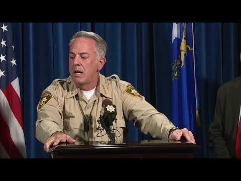 Las Vegas Sheriff Lombardo: No conflict with MGM statement about mass shooting timeline