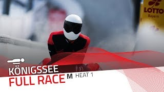 KÖnigssee | BMW IBSF World Cup 2019/2020 - Men's Skeleton Heat 1 | IBSF Official