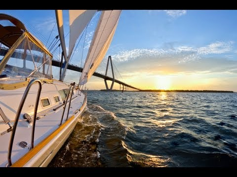Sailing to Bahamas from Charleston on a Beneteau 49
