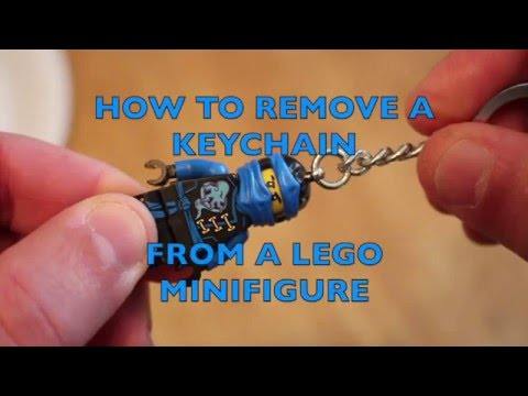 How To Remove A Keychain From A Lego Minifigure