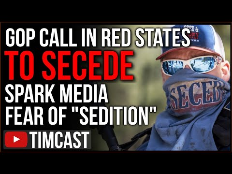 Texas GOP Endorses Vote To Secede, Republican Calls To Secede Has Democrats In Media Crying Sedition