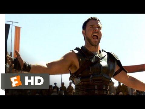 Gladiator (4/8) Movie CLIP - Are You Not Entertained (2000) HD