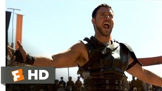Gladiator (4/8) Movie CLIP - Are You Not Entertained? (2000) HD Top 10 Video