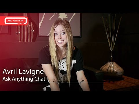 Avril Lavigne Answers Questions From Fans - Ask Anything Chat W/ Romeo, SNOL ​​​ - AskAnythingChat