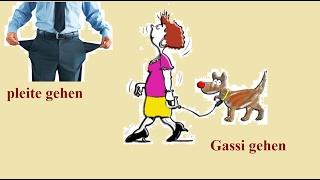 самые распространенные немецкие глаголы/немецкий глагол gehen
