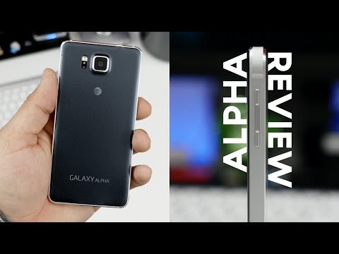 Samsung Galaxy Alpha Review!