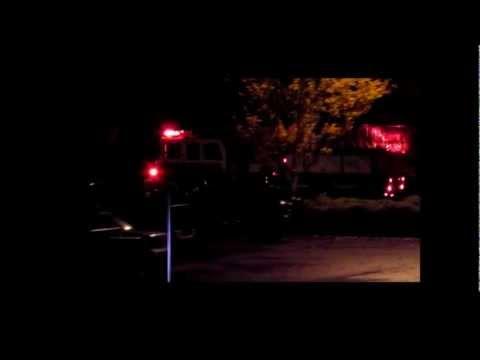Buchanan, VA - Virginia Forge Company - Building Fire - 10/29/12