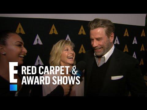 John Travolta & Olivia NewtonJohn Reunite at