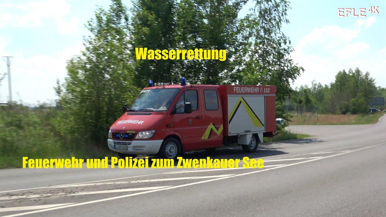 TSF FF Schkorlopp + FuStW ADL Polizei Leipzig