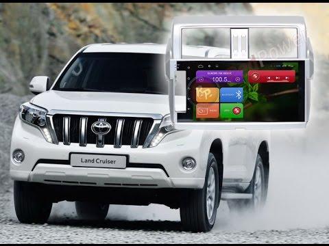 Как подключать систему кругового обзора Toyota Prado 150 2014+. Магнитола Android Redpower 18265B