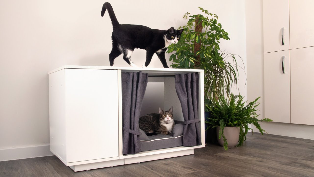 Luxury Cat Bed New Maya Nook Indoor Cat House Omlet World Famous Pet Products Youtube