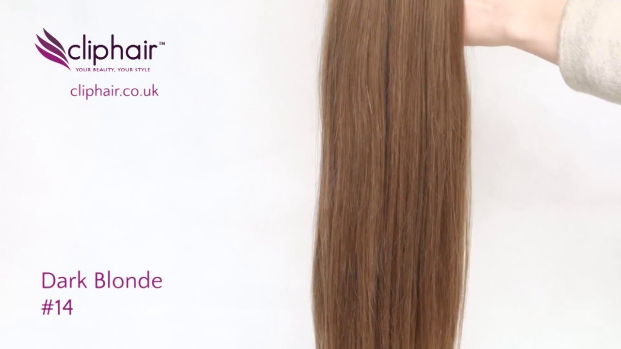 Dark Blonde Hair Extensions By Cliphair Extensions Youtube