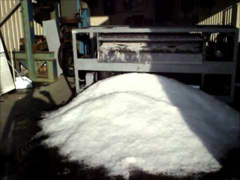 A-1 Flake Ice Machines 10 Ton unit under testing