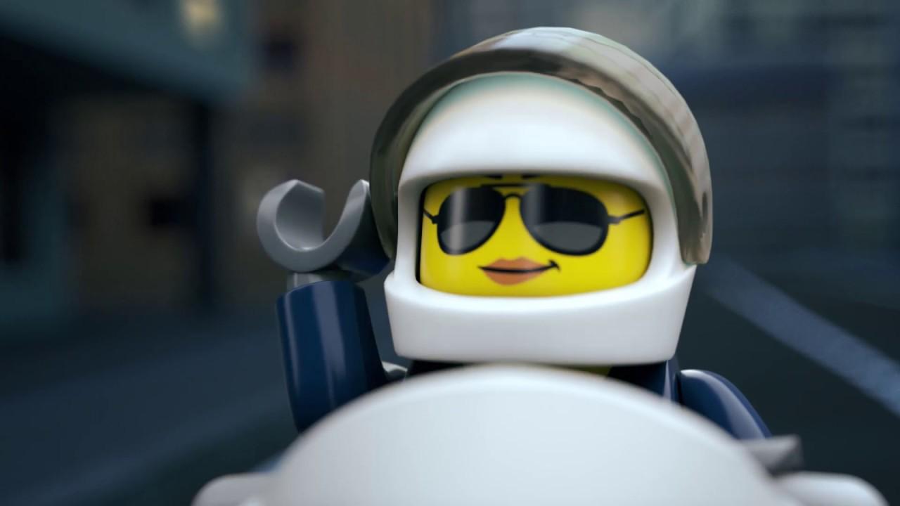 Sky Police Parachute Crook Chase Lego City Youtube