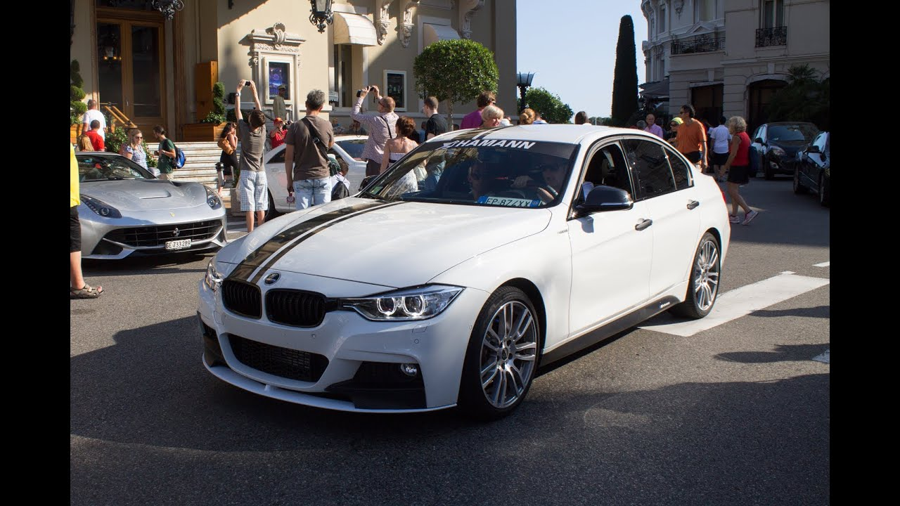 bmw 3 series f30 with hamann parts driving and drifting in monaco 2013 hq youtube. Black Bedroom Furniture Sets. Home Design Ideas