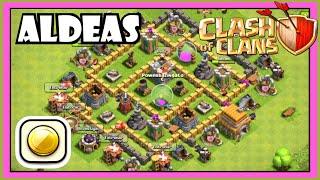 Clash of Clans ayuntamiento nivel 6: DISEÑO DE ALDEAS (FARMING) 💰💰 Cómo hacer una buena aldea!