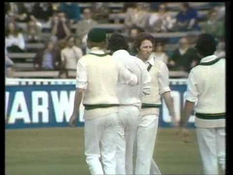 Dennis Lillee vs England 1st test 1975