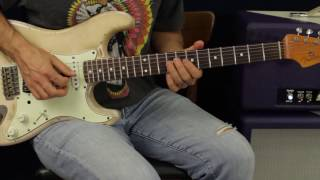 Lead Licks In The Style Of Jimi Hendrix - Guitar Lesson