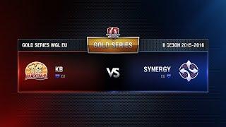 KB vs Synergy Match 1 WGL EU Season ll 2015-2016. Gold Series Week 9