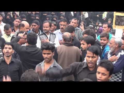 Utho Utho Ali Asghar Robab Jati Hai | Husainia Usmanpur | 27 Safar Jafrabad Jalalpur 2016