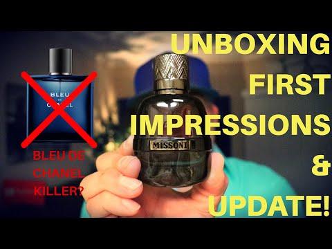 Better Than Bleu De Chanel? Missoni Parfum Pour Homme - Unboxing, First Impressions And Update!