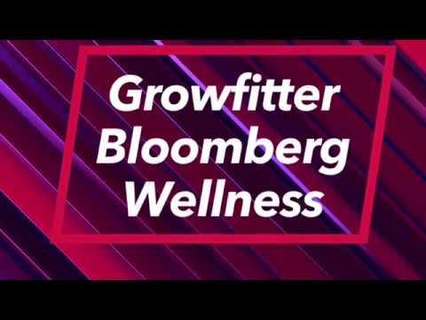 Growfitter.com Corporate Wellness Program @ Bloomberg Mumbai