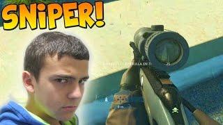 ATRACANDO EL BANCO!!! A SNIPER! - Gameplay Battlefield Hardline (Beta)