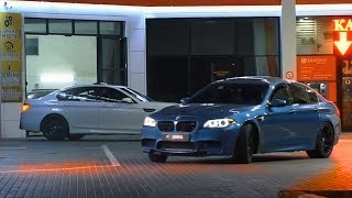"LIMMA - Сommercial ""Pit stop"" M5 F10 & CLS63 AMG"