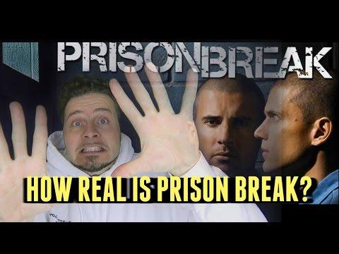 Prison Break vs Real Prison