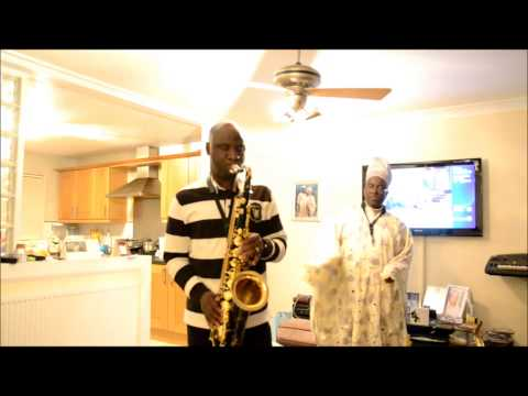 AGBADA SAX DANCE -nigerian  gospel music  by rccg famous saxophone players