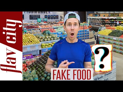 Top 10 Fake Foods You're Eating & How To Avoid Them
