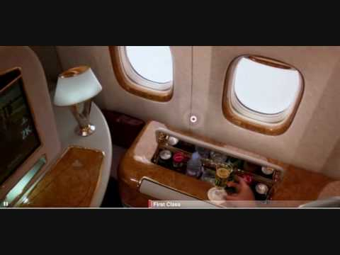 Emirates New Boeing 777 200 Lr First Business And Economy Class