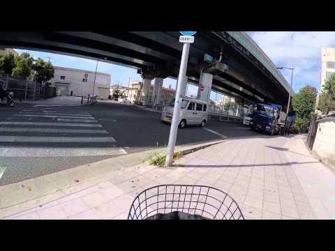Cycling in Osaka : Mido-suji _ Ebie _ Yoshino _ Yodo River