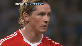Fernando Torres vs Olympique Marseille Away 08-09 HD 720p - English Commentary