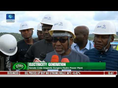 Senate Cmtte' Inspects Zungeru Hydro Power Plant