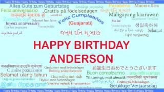 Anderson   Languages Idiomas - Happy Birthday