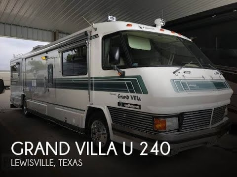 [SOLD] Used 1991 Grand Villa U 240 in Lewisville, Texas
