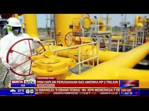 PGN Caplok Perusahaan Gas AS Sebesar Rp 2 Triliun
