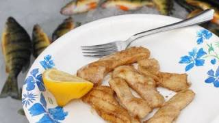 Fresh Perch In Brown Butter - Chef John Goes Ice Fishing (sort Of)