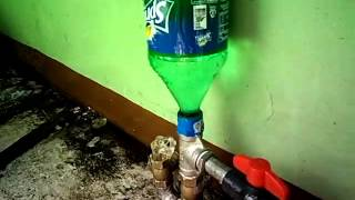 my very first water ram pump