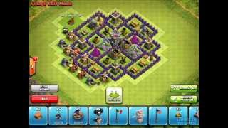 clash of clans: Town hall lvl 7 Farming base (speed Build)