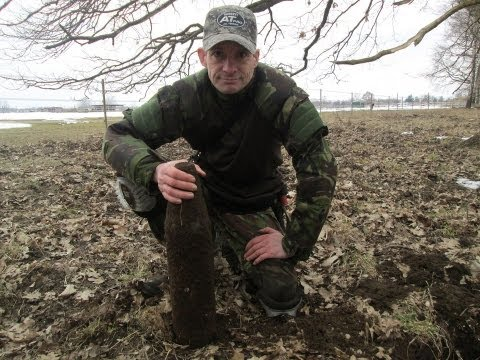 Metal Detecting WW2 Bombs In The Berlin Forest (119)