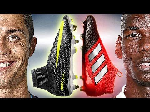 Ronaldo vs Pogba Boot Battle: Nike Superfly 5 CR7 vs adidas ACE17+ Purecontrol - Review