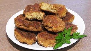 Чечевичные котлеты - вегетарианский рецепт