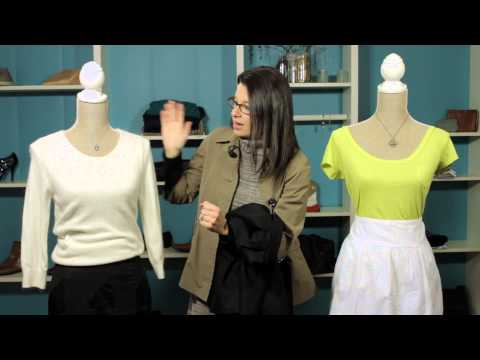 Should a Plus-Sized Woman Wear a Pencil Skirt or an A-Line Skirt? : Make It Work