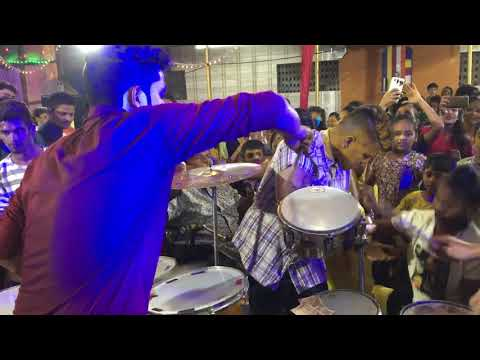Hard Solo Performance Roto King Abhishek Dahigaonkr Ajinkya Musical Group ( Byculla )