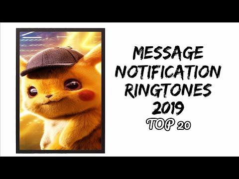 Top 20 Message Notification Ringtones (2019) |Download Now|