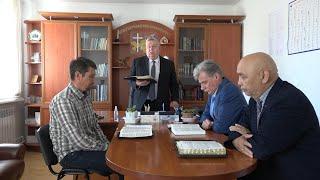 """Разбор Священного Писания 26 мая 2021 года. Церковь ЕХБ """"Преображение"""" г. Сарань."""