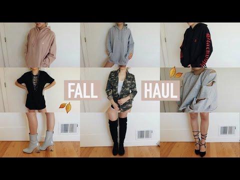 TRY-ON FALL + WINTER CLOTHING HAUL 2016   Mel Joy